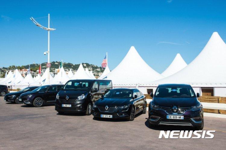 르노삼성 'SM6' 유럽모델, 칸영화제 의전차로 제공