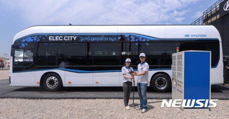 현대차, 내년 전기버스 '일렉시티' 출시…1회 충전 290㎞ 주행