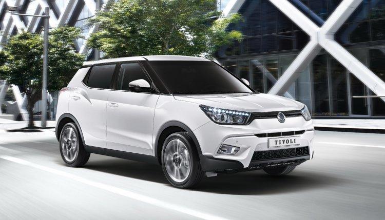 쌍용차, 2019년 '티볼리 페이스리프트' 출시… 가솔린 터보 엔진 탑재