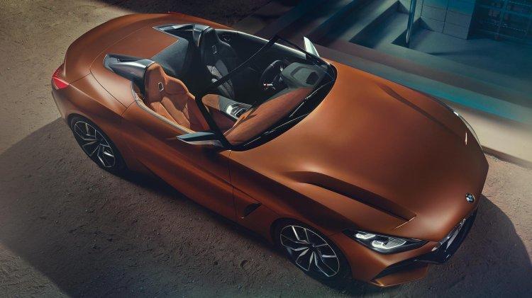 BMW, '콘셉트 Z4' 공개… 3세대 신형 Z4 '미리보기'