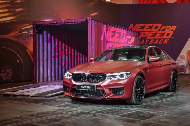 BMW, 독일 게임스컴서 뉴 M5 세계 최초 공개