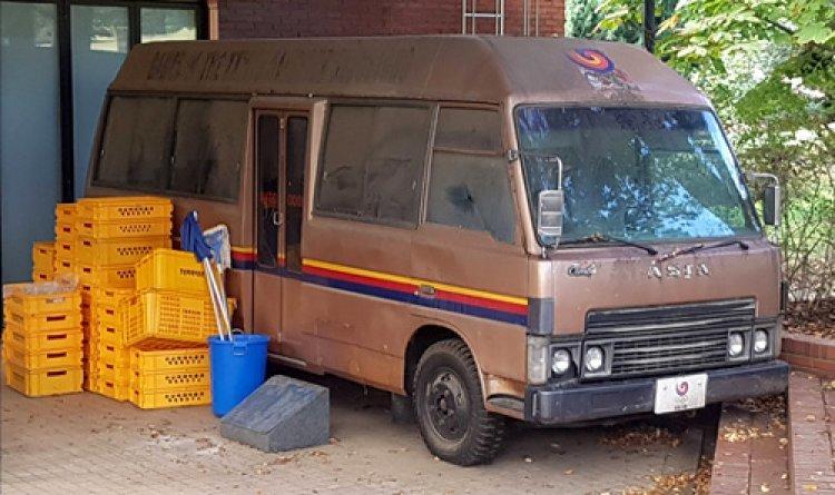 서울올림픽때 사마란치 전용차… '88콤비버스' 폐차 위기