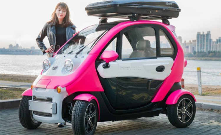 '꼬마 전기車' 시대 성큼…주차 편하고 좁은 길도 씽씽
