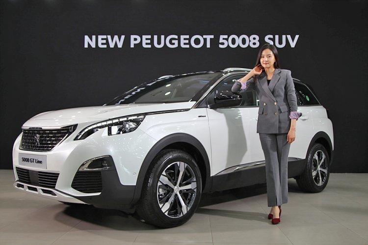 [포토]푸조 5008 외관… '4000만원대' 수입 SUV의 자태