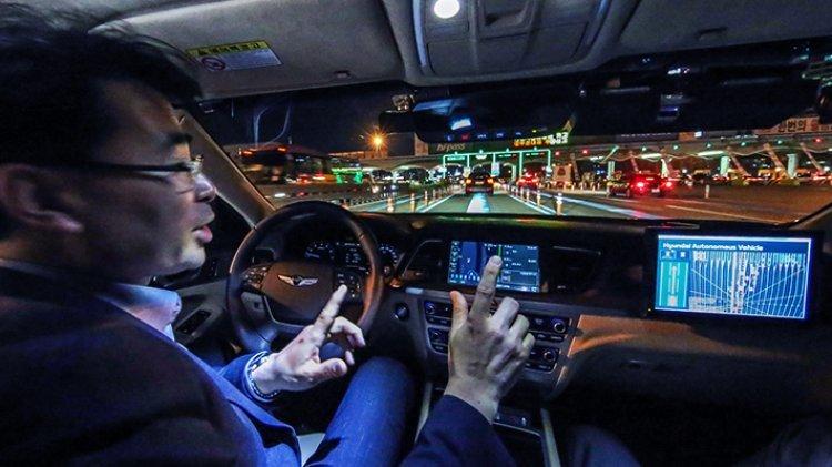 현대車 G80, 고속도로서 100km 야간자율주행 성공