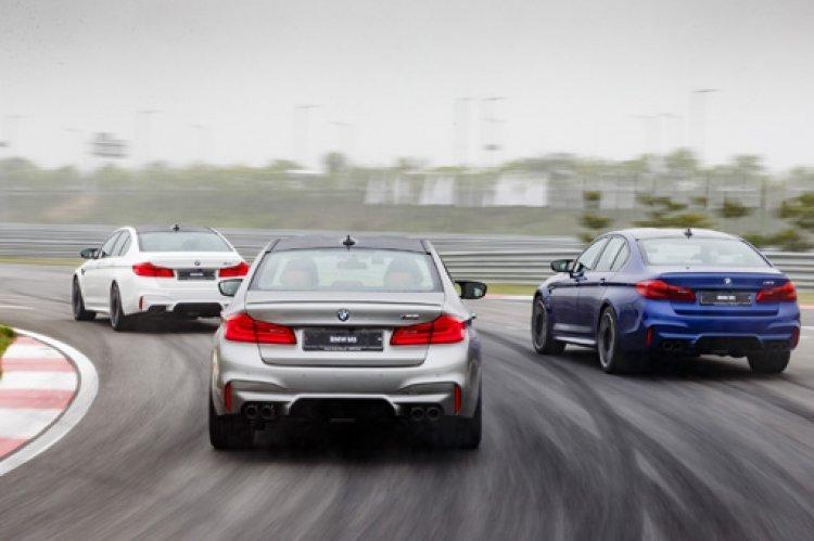 제로백 3.4초…액셀 밟는 순간 야수로 돌변하는 'BMW 뉴 M5'