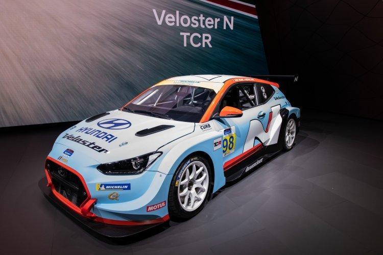 현대차, 고성능 경주차 '벨로스터 N TCR' 세계 최초 공개