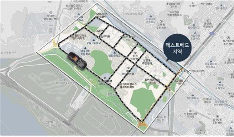 서울 상암에 5G 자율주행 전용시험장 첫선…6월 시범운행