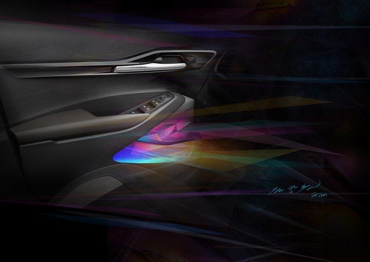 기아차, 신규 소형 SUV 'SP2' 실내 이미지 공개
