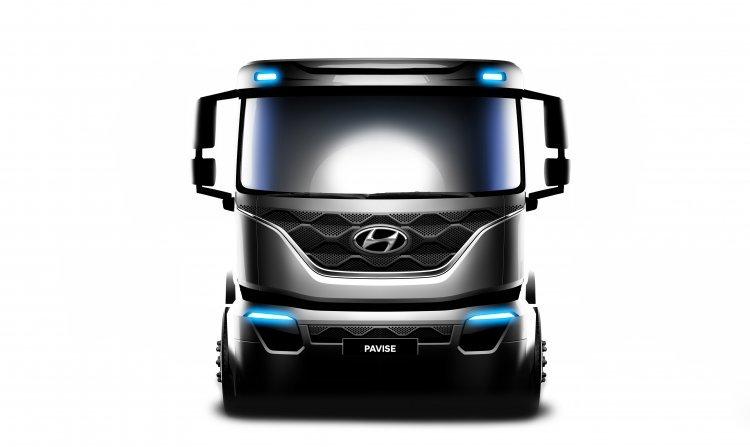 현대차, 최초 준대형 트럭 '파비스' 렌더링 이미지 공개
