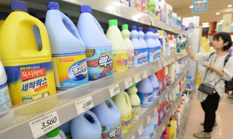10월부터 생활화학제품 성분 국민에게 공개…17개 업체·50종 제품