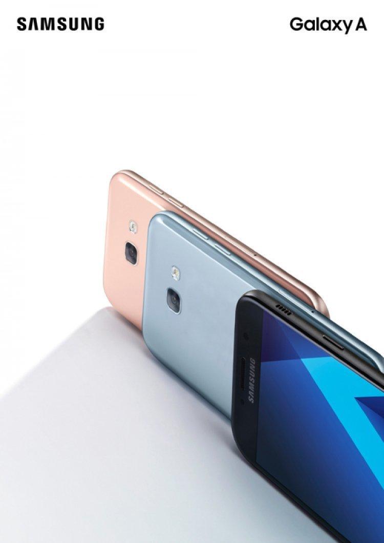 삼성, 카메라 특화폰 '갤럭시A5' 출시…출고가 54만8900원
