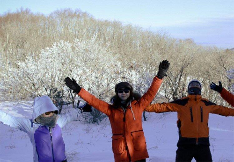 스노보드… 얼음낚시… 반갑다! 겨울여행