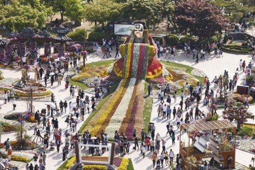 대한민국 대표 하훼축제 '고양 꽃박람회'