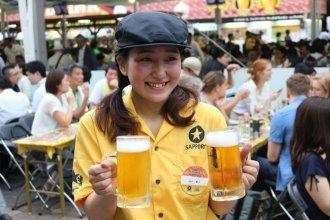 더위와 스트레스에 지쳤다면, 日 '삿포로비어가든' 축제 어때?