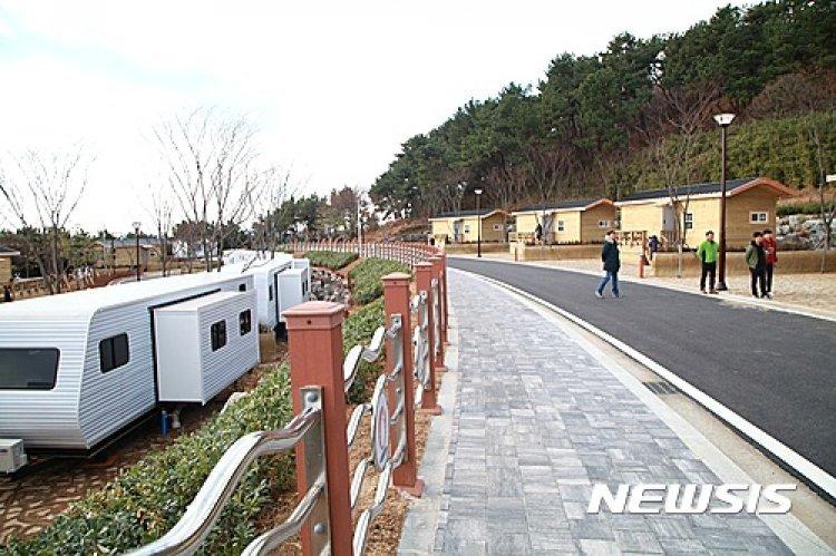 휴가철 대왕암공원 오토캠핑장 인기…주말 예약률 100%