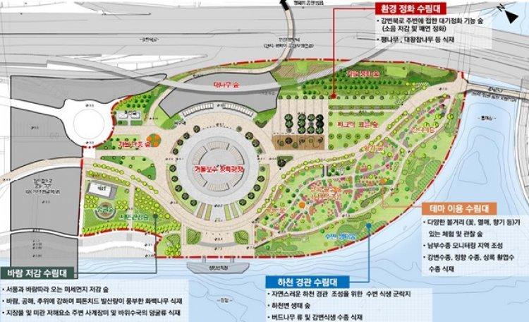 난지한강공원, 4가지 테마 힐링숲으로 새단장