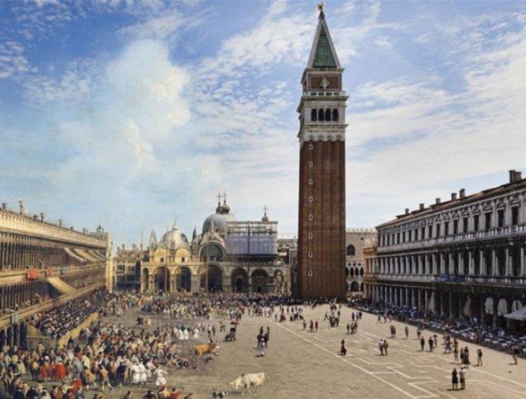 베네치아 광장 계단에 앉아 아이스크림? 벌금 66만원입니다