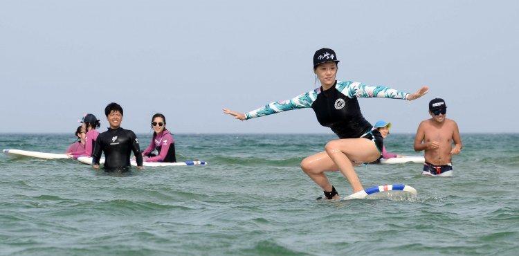 양양 하조대 '서피비치' 강원 여름 여행지 1위