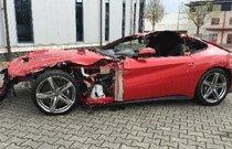 '썩어도 준치' 페라리, F12 베를리네타 교통사고 후 경매에…