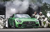 메르세데스-AMG, 최고출력 585마력 '녹색 괴물' GT R…