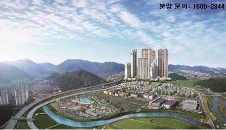 김해 초고층 아파트 화려한 날개짓…  장유 경동리인하이스트 눈길