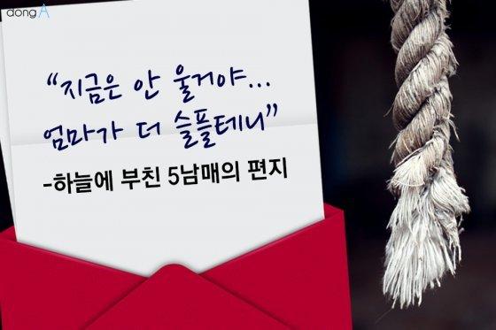 [카드뉴스] 하늘에 부친 5남매의 편지