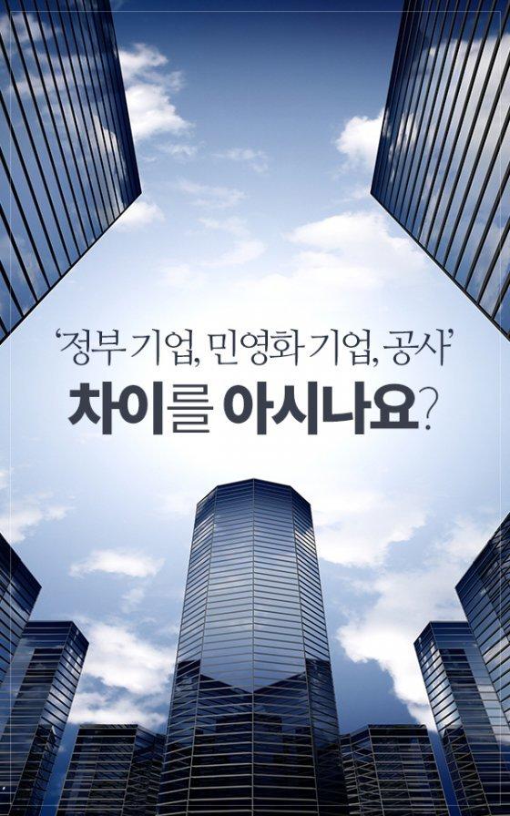 [카드뉴스]'정부 기업, 공사, 민영화 기업'의 차이를 아시나요?