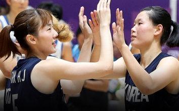 여자농구 단일팀 값진 은메달