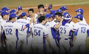 한국야구, 일본 꺾고 금메달