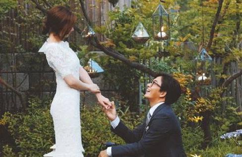 배용준-박수진 임신 초기 소식에 SNS '축하 봇물'