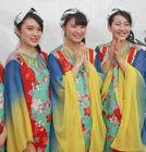 노래하는 일본의직녀(織女)들
