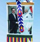 인도에 떠오른文대통령과 모디 총리