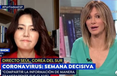 """손미나, 멕시코에도 韓 코로나19 대응 홍보 """"국가대표 인터뷰어"""""""