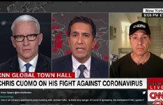 """'코로나19 감염' CNN 앵커 """"3일 만에 6kg 빠져"""""""