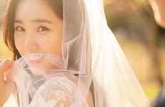 최희, 일반인 사업가와 결혼 웨딩화보 공개
