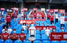'무관중 개막' 대만 야구로봇 마네킹 응원단 배치
