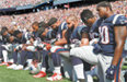 트럼프에 성난 美스포츠계'무릎 꿇기' 저항 확산