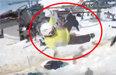 끔찍한 리프트 오작동 사고…고속 역주행 10여 명 추락