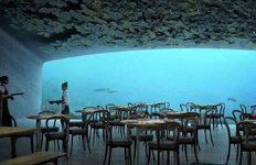 노르웨이에 세계 최대 규모바닷속 레스토랑 문 연다
