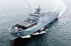 차기상륙함 네 번째 '노적봉함'해군에 인도…내년 중 임무 투입