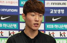 """'2018년 33골' 황의조 """"자신감이 원동력2019년에 더 넣고 싶다"""""""
