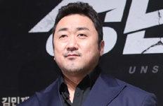 마동석, 올해 가장 활약한 영화배우 1위하정우 2위·이병헌 3위