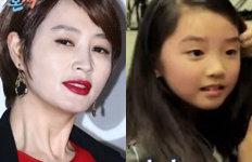 """김혜수 막내동생 김동희 딸고모 빼닮았네…""""아역배우인 줄"""""""