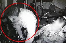 박정태 선수, 버스기사 폭행장면블랙박스에 딱!…운전대 '휙휙'