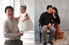 소유진♥백종원, 딸바보 부부막내딸 돌사진 촬영하던 날