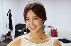 가수 솔비, 물오른 미모아름다운 드레스 자태