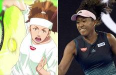 日 혼혈 테니스 스타 오사카광고서 백인으로 묘사?