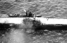 2차대전시 침몰한미 항모 호넷 해저에서 발견