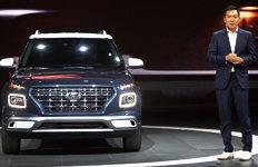 뉴욕 국제오토쇼서 베일 벗은 현대車 소형SUV '베뉴'…가격은?